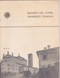 Copertina D.Toniolo