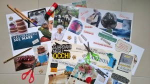 Workshop di Collage evocativo_Eliana_Santin_2017